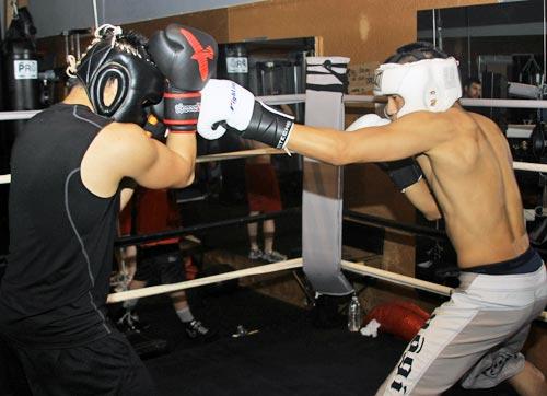 Grundschläge beim Boxen