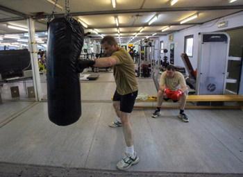 Rutina básica de entrenamiento de boxeo