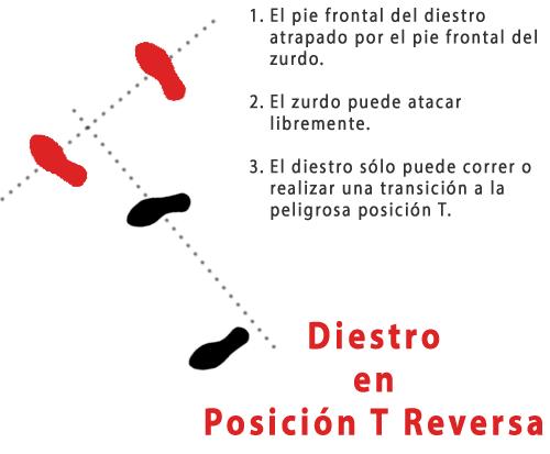 Diestro en Posición T Reversa
