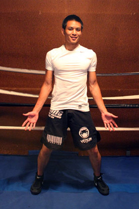 A Largura da Postura Perfeita do Boxe