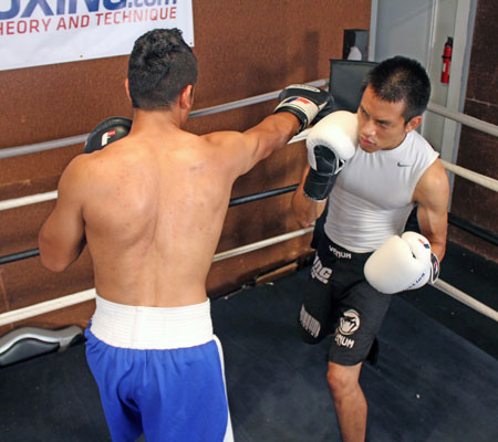 left hook to the body