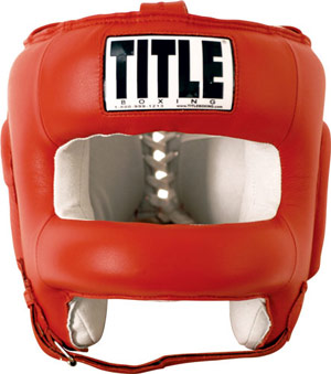 Title Boxing Face Protector Training Headgear