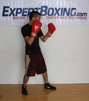 jab from boxing stance