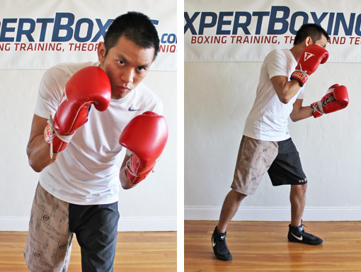 forward axis in boxing