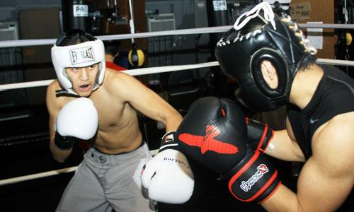 Techniques de boxe intermédiaire