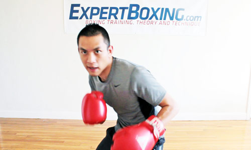 Movimiento de cabeza en el boxeo
