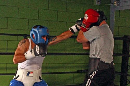 melhor combinação do boxe, o jab-jab-direto