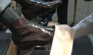 Como lanzar una combinación shoeshine(lustrada de zapato)