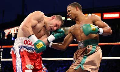 左撇子对付正架选手的三种基本反击拳